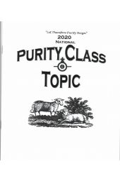 Purity Class Topics | 2020