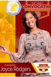112th Holy Convocation | Evangelist Joyce Rodgers