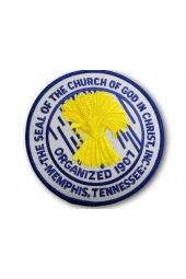 Sew on Patch - COGIC Seal (Official)