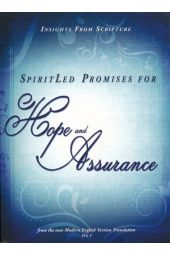 SpiritLed Promises for Hope and Assurance: Insights from Scripture from the New Modern English Version Translation (Spirit Led Promises Series)