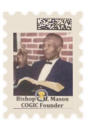 Bishop C. H. Mason Commemorative Stamp (20)