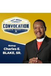 109th Holy Convocation | Bishop Charles E. Blake, Sr.