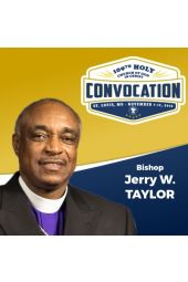 109th Holy Convocation | Bishop Jerry W. Taylor
