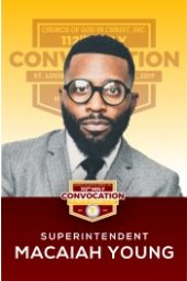 112th Holy Convocation | Supt. Micaiah Young