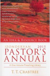 The Zondervan 2015 Pastor's Annual: An Idea and Resource Book