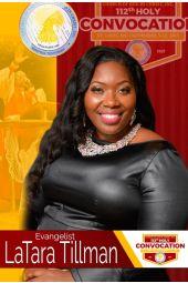 112th Holy Convocation | Evangelist LaTara Tillman