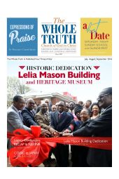 The Whole Truth Magazine (Individual Issue) July - September 2016