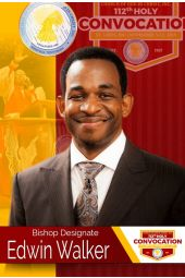 112th Holy Convocation | Bishop Edwin Walker