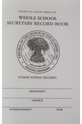 Whole School Secretary Record Book