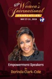 69th Women's International Convention | Evangelist Dorinda Clark-Cole