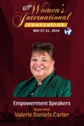 69th Women's International Convention  | Supervisor Valerie Daniels Carter
