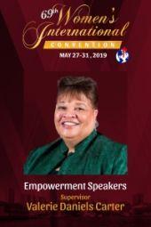 69th Women's International Convention  | Supervisor Valerie Daniels Carter