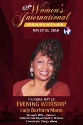 69th Women's International Convention | Lady Barbara Mann