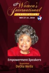 69th Women's International Convention | Supervisor DeOla Wells Johnson