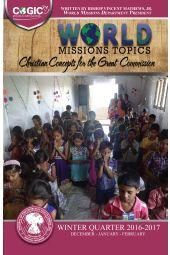 World Missions Topics: WIQ 2016-2017 (Dec-Feb) [eBook]