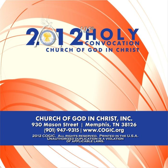 105th Holy Convocation   Presiding Bishop Charles E  Blake, Sr  [CD]