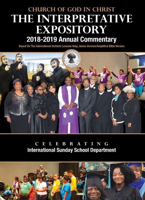 Annual Sunday School Lesson Commentary 2018-2019 [KJV-AMP] PRE=ORDER
