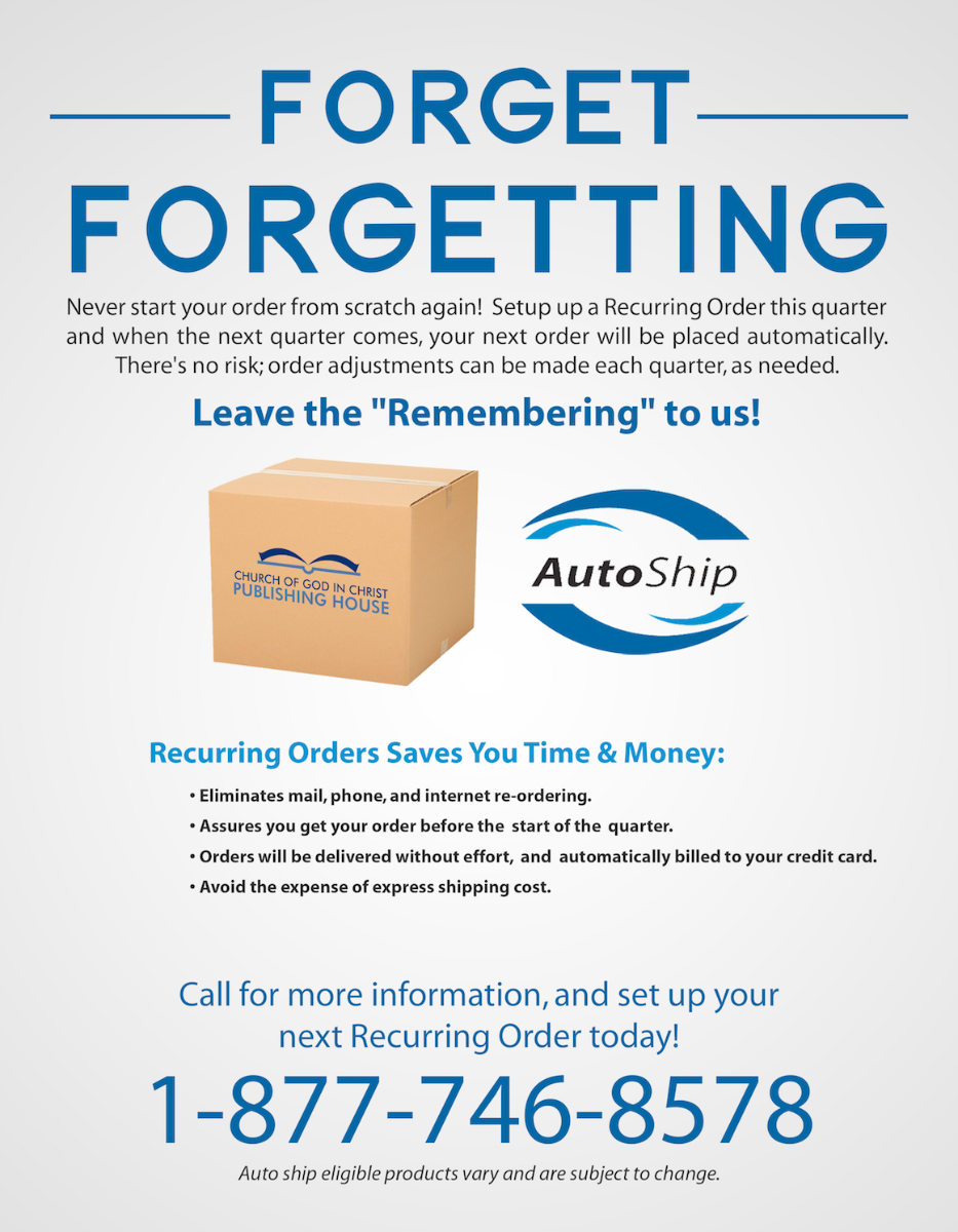 Recurring Order Ad