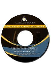 """104th Holy Convocation   Pastor Elijah Hankerson """"God Church, God's People, God's Agenda"""" [CD]"""