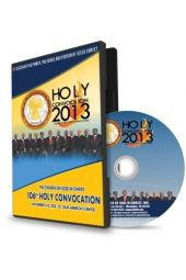 106th Holy Convocation | 2013 CD Message Set [CD]