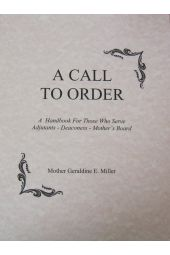 A Call to Order