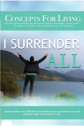 Concepts For Living | Adult: I Surrender All [eBook]