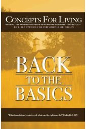 "Concepts For Living | Adult: ""Back To The Basics"""