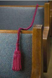 Pew Rope - Burgundy