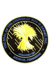 Patch - COGIC Seal (Black)