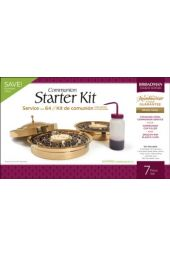 RemembranceWare ® Communion Starter Kit, Brass