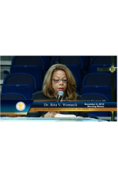 "105th Holy Convocation | Dr. Rita Womack ""The is Something in this Struggle"" [DVD]"