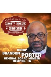 108th Holy Convocation | Bishop Brandon B. Porter