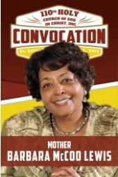 110th Holy Convocation | Mother Barbara McCoo Lewis