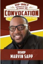 110th Holy Convocation   Bishop Marvin Sapp