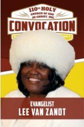 110th Holy Convocation | Supervisor Lee Van Zandt