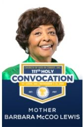 111th Holy Convocation | Mother Barbara McCoo Lewis