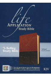 KJV Life Application Study Bible, TuTone Brown/Tan