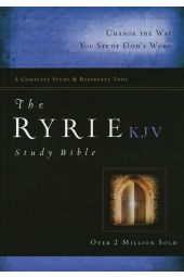 The Ryrie KJV Study Bible Hardcover