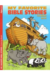 My Favorite Bible Stories Coloring Book (Ages 2-7)