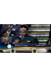 "103rd Holy Convocation | Bishop T. D. Jakes ""You Are Right On The Edge Of A New Thing"" [DVD]"