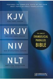 The Complete Evangelical Parallel Bible KJV, NKJV, NIV & NLTse Hardcover