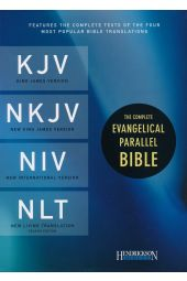 The Complete Evangelical Parallel Bible KJV, NKJV, NIV & NLTse Flexisoft Leather Brown/Tan