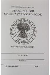 Whole School Secretary Record Book