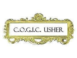 usher badge cogic rh cogicpublishinghouse net Usher Board March Usher COGIC Seal